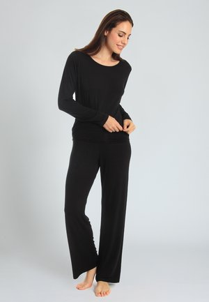 CASUAL COMFORT - Pyjama bottoms - black