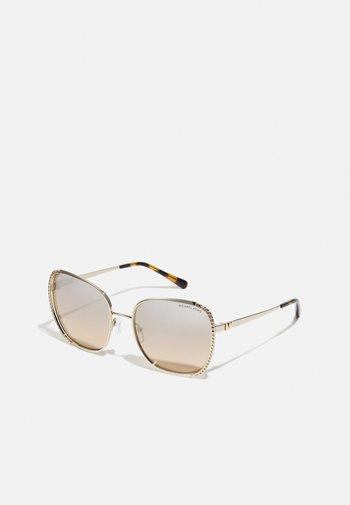 Solglasögon - light gold-coloured