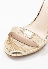 Buffalo - JANNA - High heeled sandals - gold - 2