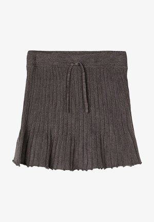 A-line skirt - plum kitten