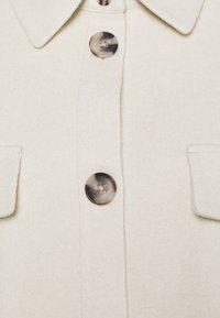 Vero Moda Curve - VMDAFNEALLY JACKET - Krátký kabát - birch/melange - 2