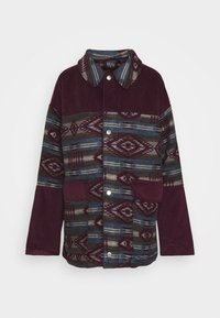 BDG Urban Outfitters - DYLAN DONKEY TAPESTRY JACKET - Summer jacket - burgundy - 4