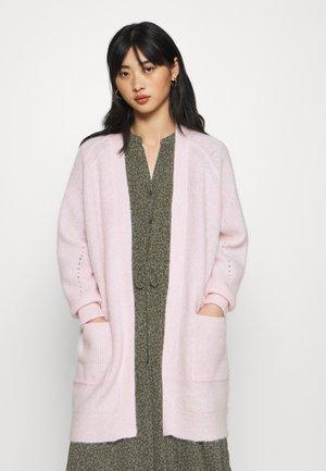 SLFLULU LONG CARD - Vest - chalk pink