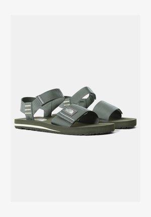 W SKEENA SANDAL - Walking sandals - agave green vintage white