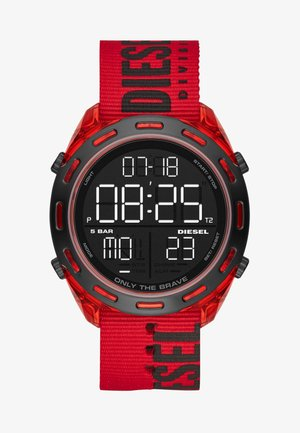 CRUSHER - Digital watch - red