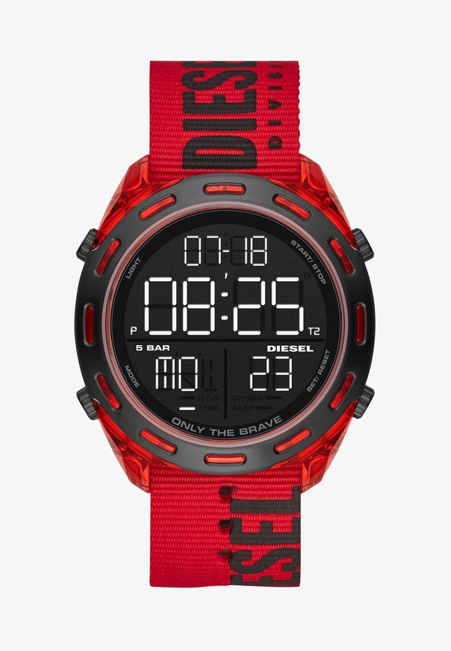 CRUSHER - Reloj digital - red