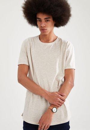 LONG FIT - T-shirt - bas - beige