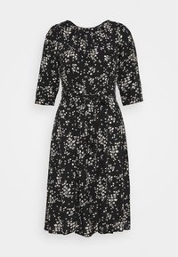 Dorothy Perkins Petite - BILLIE DITSY FIT AND FLARE DRESS - Day dress - black - 3