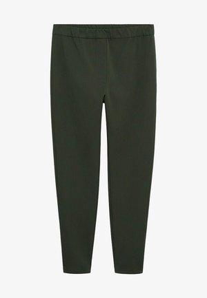 ELASTIC - Kalhoty - kaki