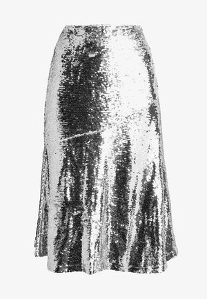 VIBE SKIRT - A-line skirt - silver
