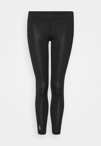 ONPADREY TRAINING TIGHTS - Leggings - black/white