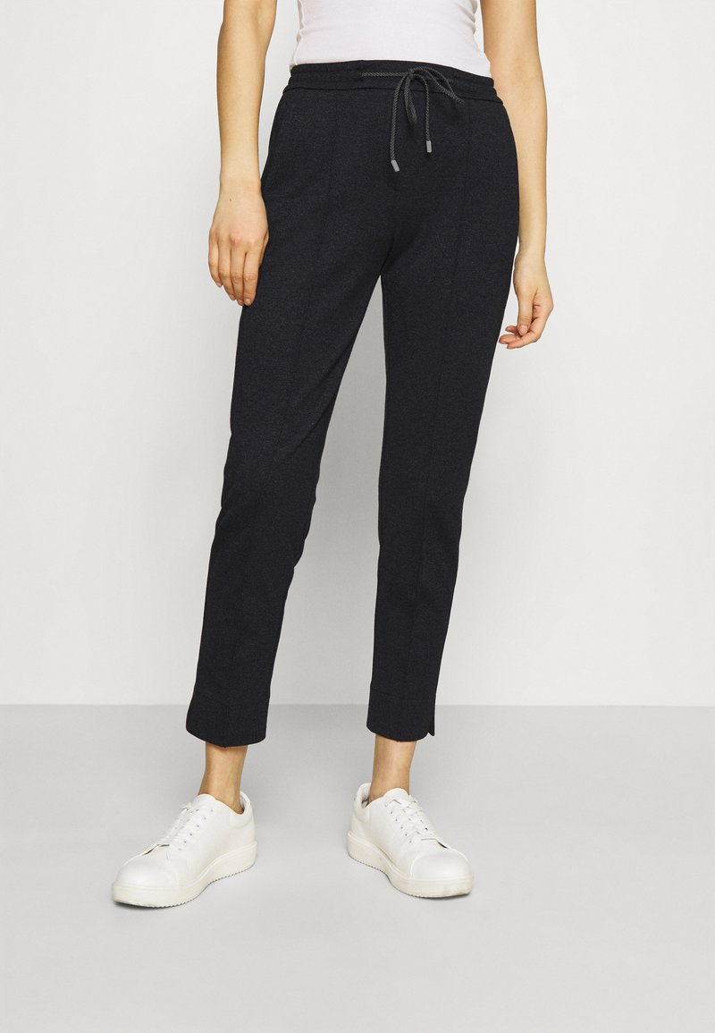 Opus - MELVY CITY - Trousers - forever blue