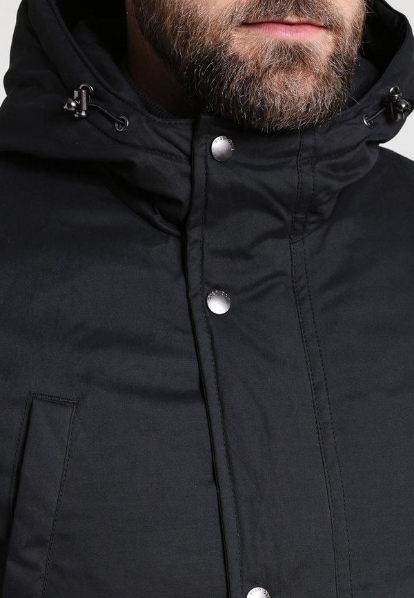 Pier One Parka - black/czarny Odzież Męska LWLQ