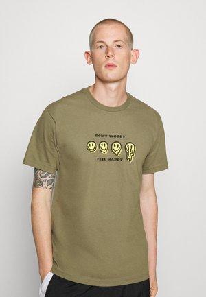 MELTER  - T-shirt print - military olive