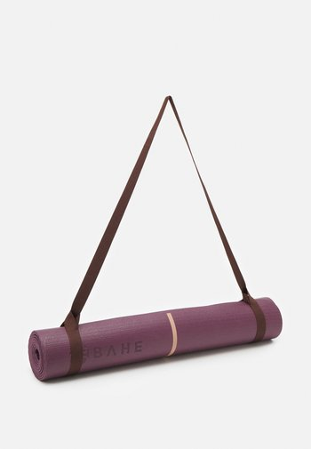 ESSENTIAL MAT ALIGNMENT 4MM - Fitness/yoga - mulberry