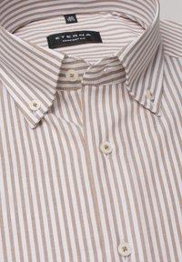 Eterna - COMFORT FIT - Shirt - beige/weiss - 4