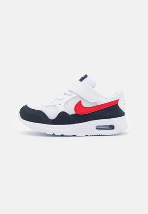 AIR MAX SC UNISEX - Matalavartiset tennarit - white/university red/obsidian
