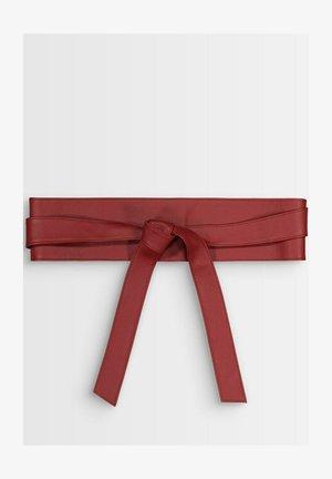 Waist belt - rouge foncé
