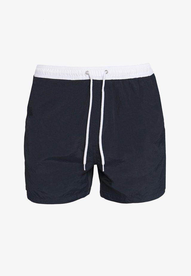 WAVE - Short de bain - navy/white
