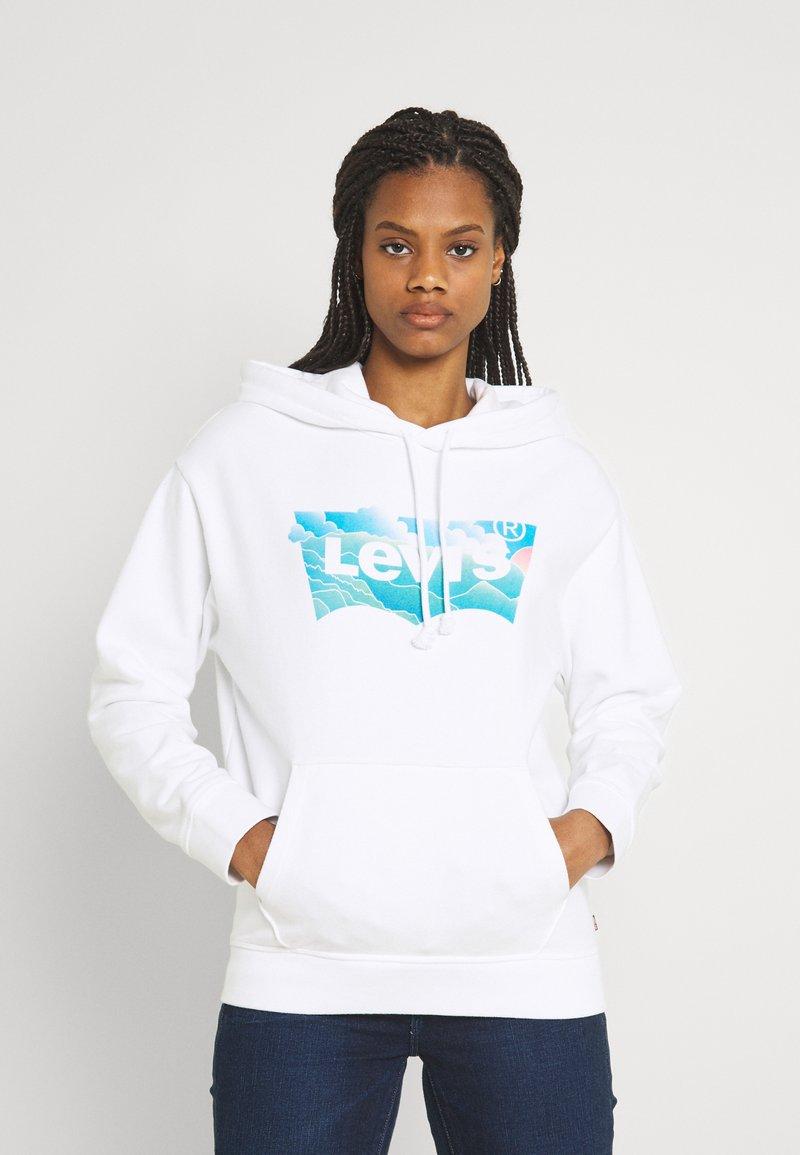 Levi's® - GRAPHIC STANDARD HOODIE - Sweat à capuche - white