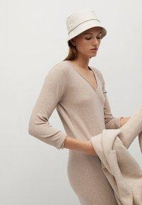 Mango - ROLLY - Jumper dress - light/pastel grey - 9