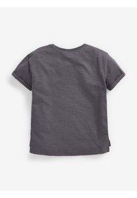 Next - Print T-shirt - grey - 1