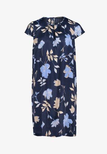 Day dress - dark blue/beige