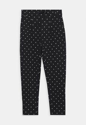 ONLPOPTRASH EASY DOT PANT - Trousers - black