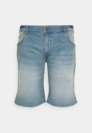 USOLSSON DESTROY - Denim shorts - skyway blue