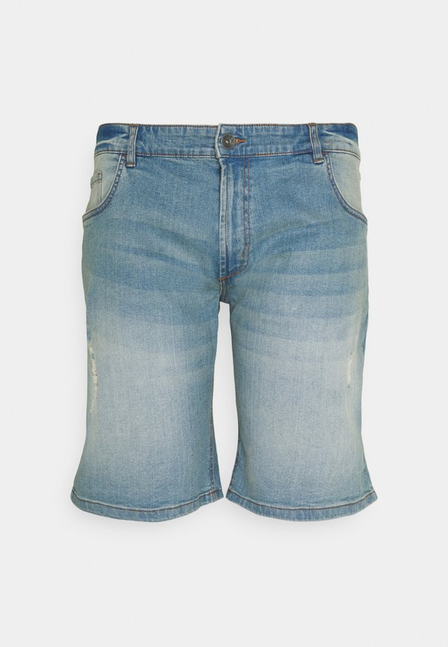 USOLSSON DESTROY - Jeansshort - skyway blue