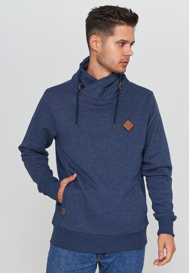 Sweater - navy mel.