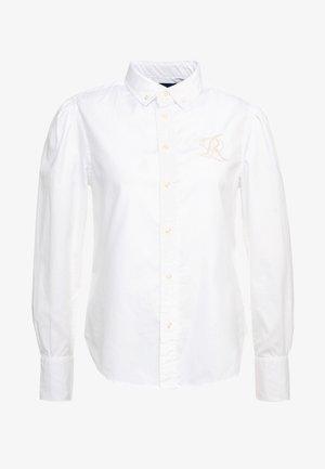 BRIA LONG SLEEVE - Skjortebluser - white