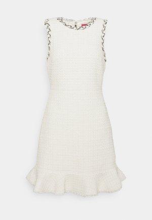 FLORA DRESS - Sukienka etui - french cream multi