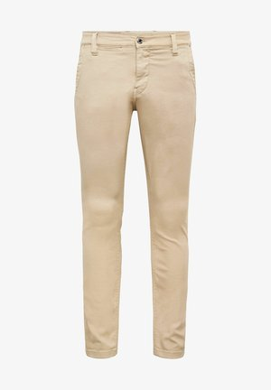 SKINNY CHINO - Chinos - bracket superstretch twill rfd - khaki gd
