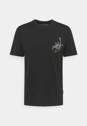 STAR SIGN LOGO UNISEX - T-shirt z nadrukiem - black