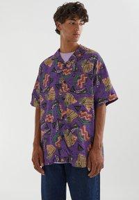 PULL&BEAR - Shirt - purple - 0