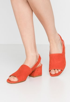 ELENA - Sandals - tangerine