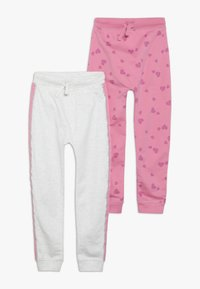 mothercare - JOGGER 2 PACK - Träningsbyxor - pink - 0