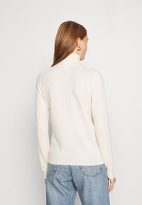 Benetton - TURTLE NECK - Maglione - offwhite - 2