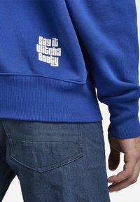 G-Star - UNISEX EMBRO HDD SW - Sweatshirt - bhashor sweat r -blue - 4