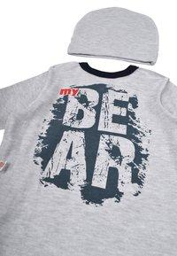 Leo - BABY SET BEAR 4 PACK - Kruippakje - grau/blau - 4