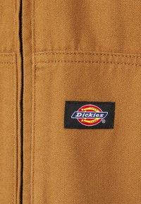 Dickies - DUCK SHERPA JACKET - Light jacket - brown duck - 3