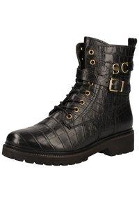 Scapa - Cowboy/biker ankle boot - noir 902 - 2