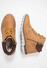 TOM TAILOR - Sneakersy wysokie - camel - 1