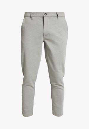 PANTS DAVE BARRO - Pantaloni - mottled dark grey, mottled dark grey