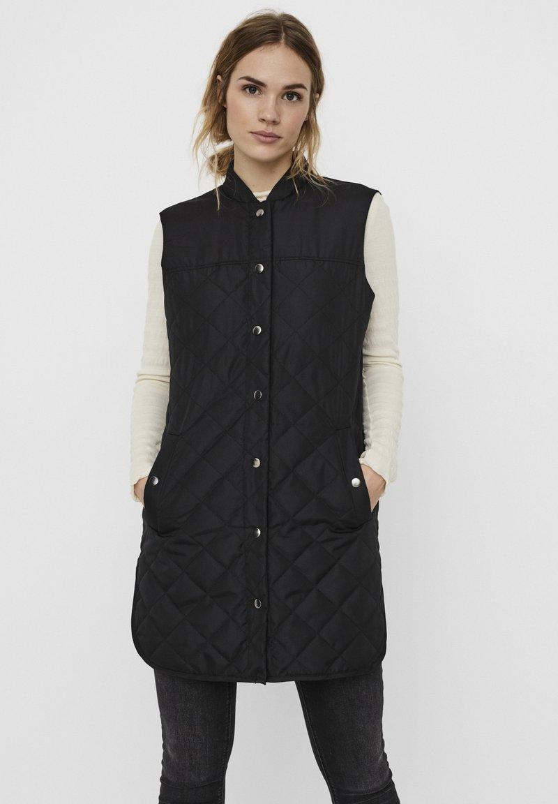 Vero Moda - 3/4  - Waistcoat - black