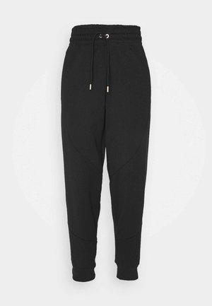 Pantalones deportivos - black/metallic gold