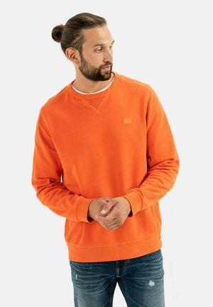 Sweatshirt - orange red