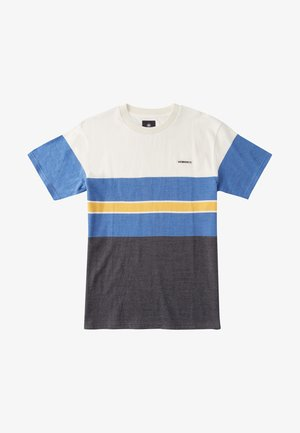 RALLY STRIPE - Camiseta estampada - turkish sea block stripe