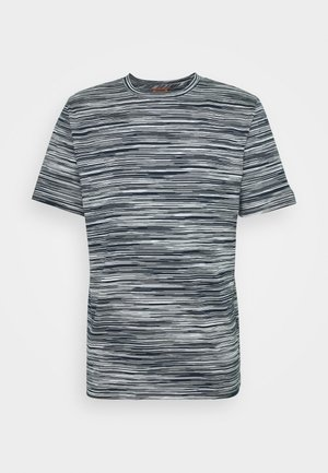 MANICA CORTA - T-shirt con stampa - dark blue